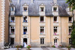 romantic wedding venue in French chateau