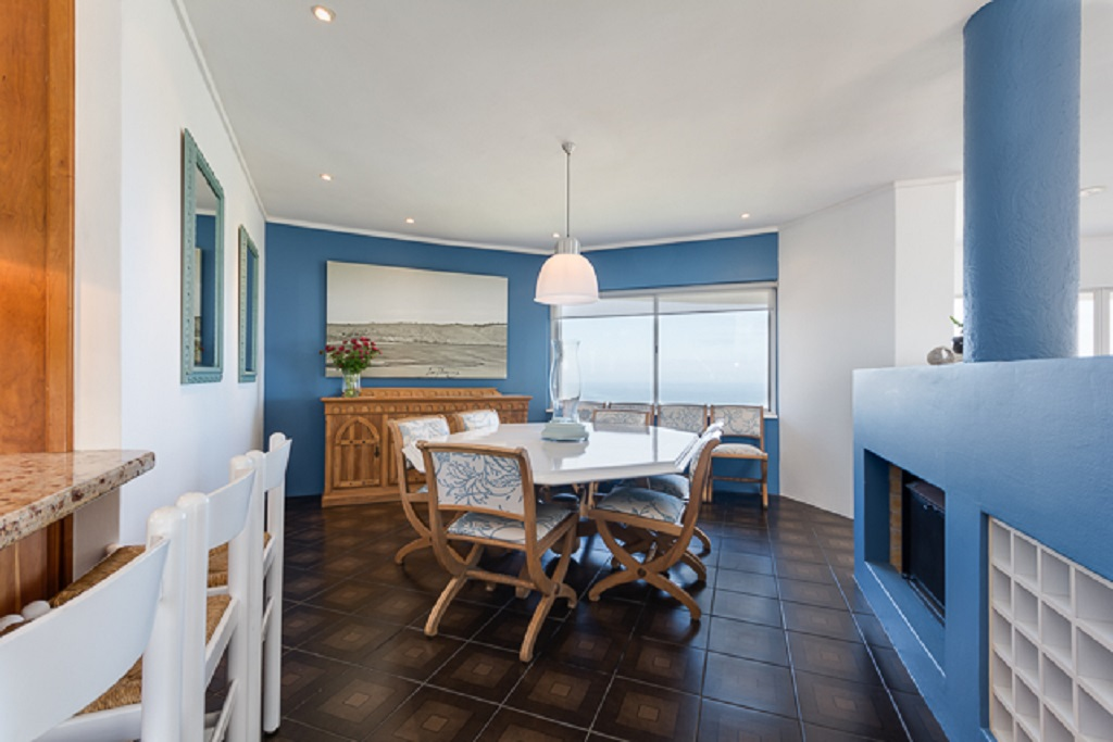 holiday rental with sea view