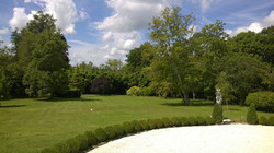 wedding venue in French chateau rental with  pool in Dordogne