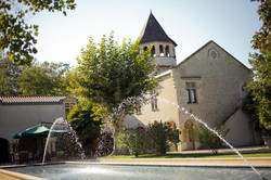 small wedding venue in South of France to rent in castle in accommodation