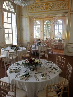 Sea view wedding venue in French chateau on French riviera with pool