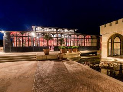 weddings & events in french castle with sea view on french riviera