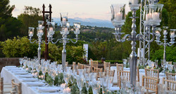 event & destination wedding venue in the south of France with pool & panoramic view
