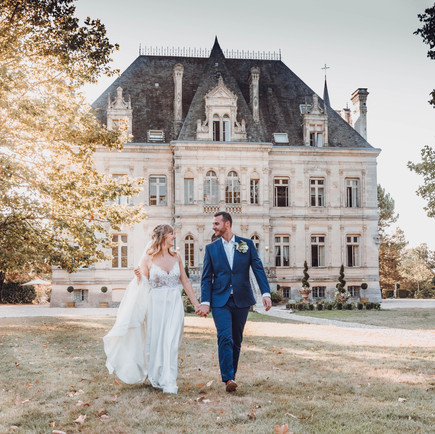 Exclusively for a wedding around French vineyards