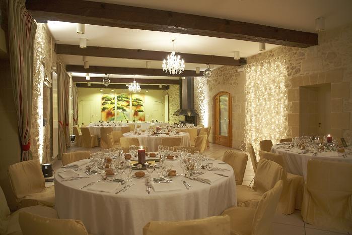 ding venue chateau France room