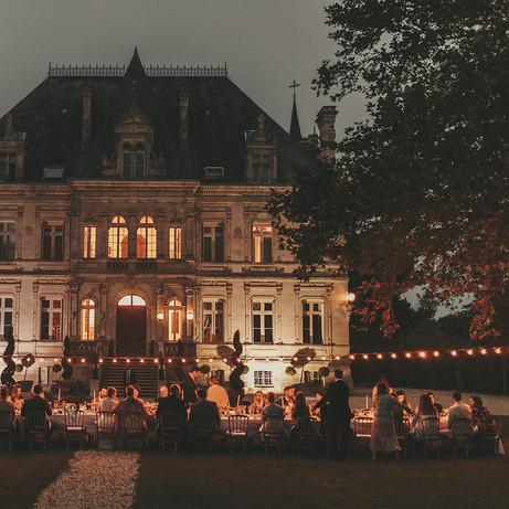 destination wedding venue in french chateau in dordogne