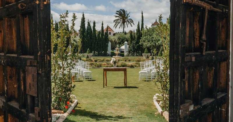 large romantic wedding venue near Malaga