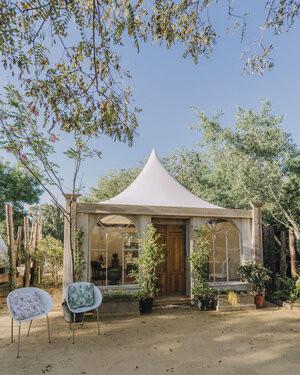 destination wedding venue glamping accommodation near malaga