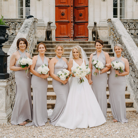 Wedding planner in French Castle
