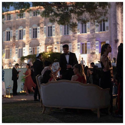 wedding venue and event in the South of France , with sea view