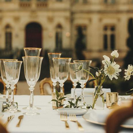 typical french destination wedding venue to rent around bordeaux