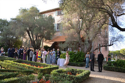 Destination wedding venue on French Riviera, Antibes