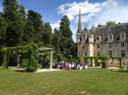 chateau wedding venue in Loire Valley with accommodation