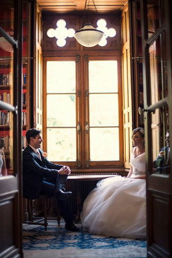 chic wedding venue in French Chateau in Loire Valley