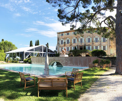 South of France wedding venue with sea & mountain view