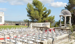 French wedding venue in south of France in Chateau in south of France