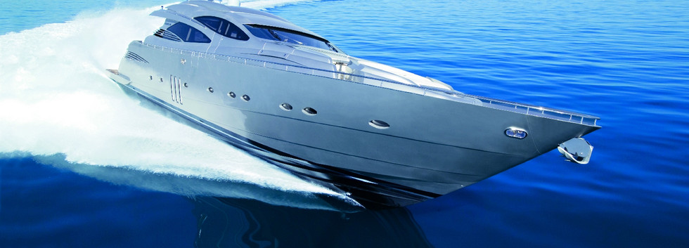 Large crewed yacht to rent in Ibiza