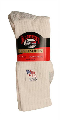 Single Pair Men's Boot Sock with Arch Support (6123)