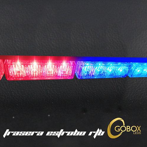 Barra torreta estrobo R/B,W/Y, RGB