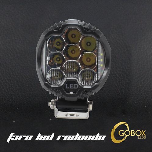"Faro Led Redondo 5"" pulgadas 15 LED CREE"