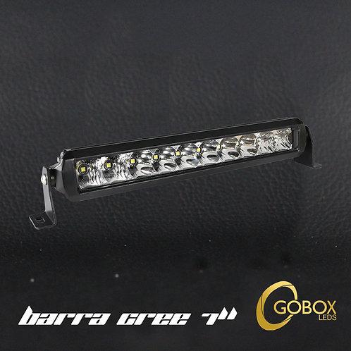 """Barra LED Cree 7"""" Pulgadas"""