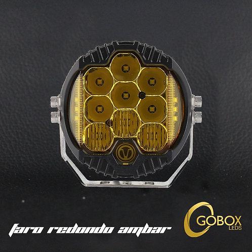 "Faro LED 5"" pulgadas DRL ambar"
