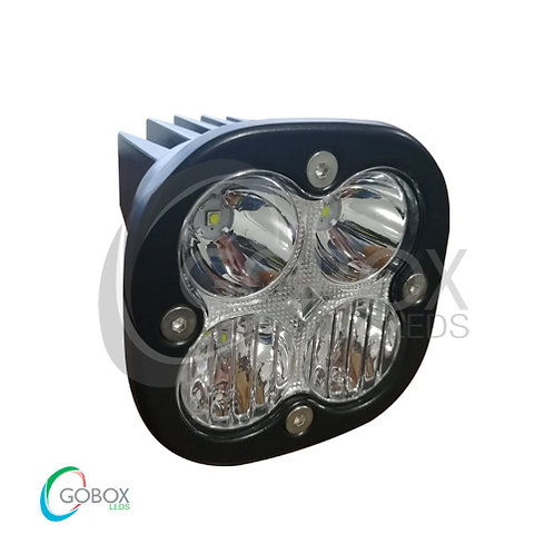 Par De Faros Dually 4 Led Drl Azul,
