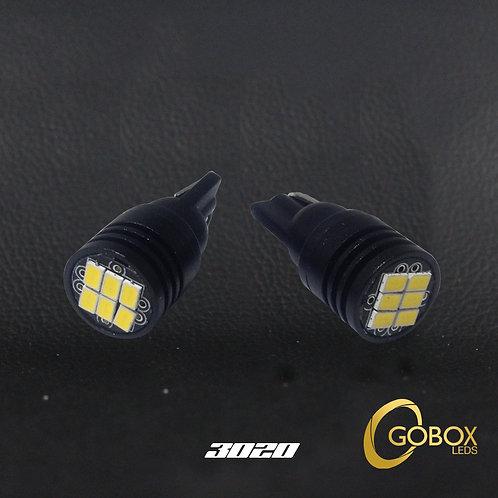 Indicadores T10-Canbus 3020