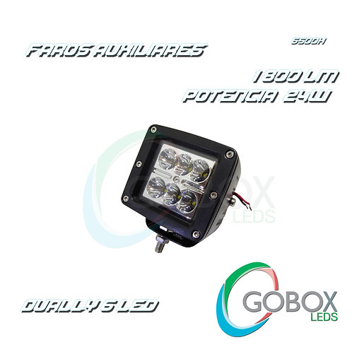Faro Led Cree 24W Dually 6 Led