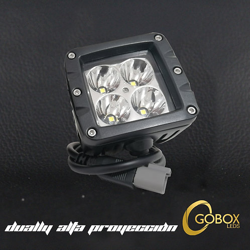 Faros Dually Alta Proyección 4 LED color Blanco