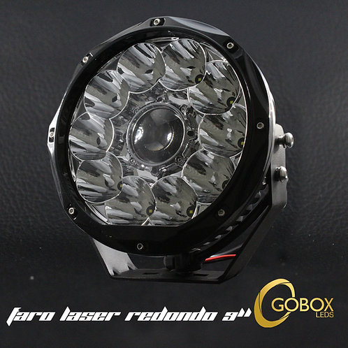 """Faro Laser 9"""" pulgadas DRL"""