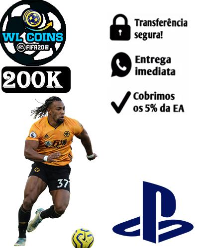 200.000 FIFA COINS PS4/PS5