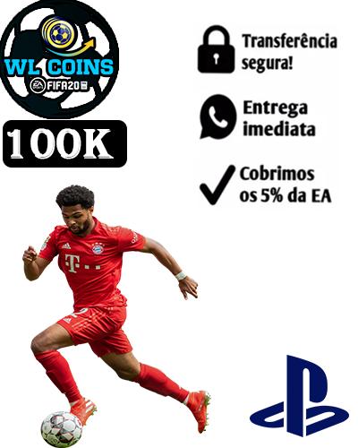 100.000 FIFA COINS PS4/PS5