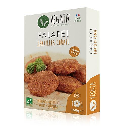 Falafel LENTILLES CORAIL 6pce 160g