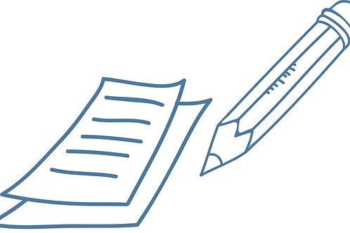Заполнение анкеты / личного кабинета