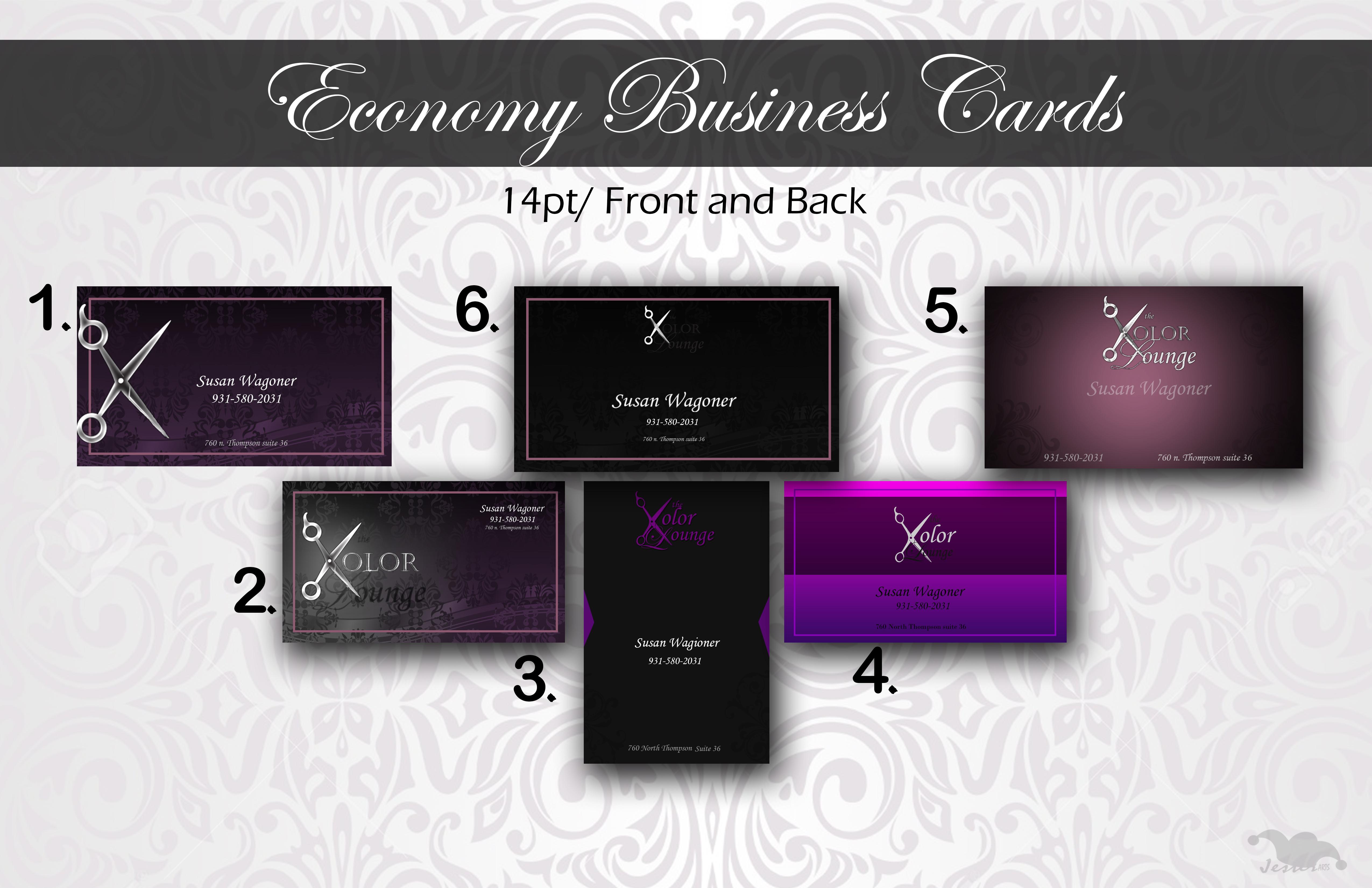 Economy cards