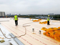 XPS Roof Application