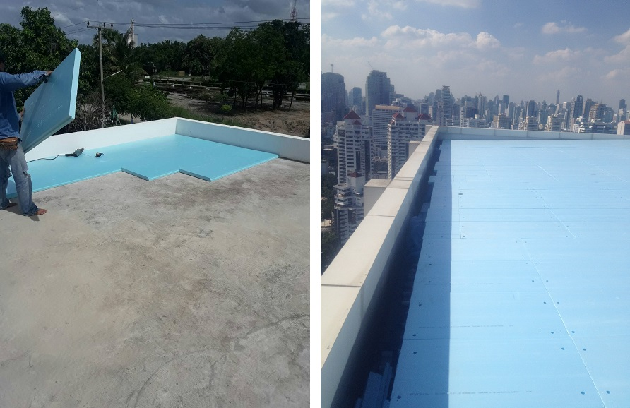 XPS-Roof Application