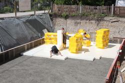 extruded polystyrene under slab foundati
