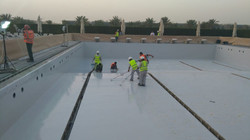 extruded polystyrene swimming pool appli