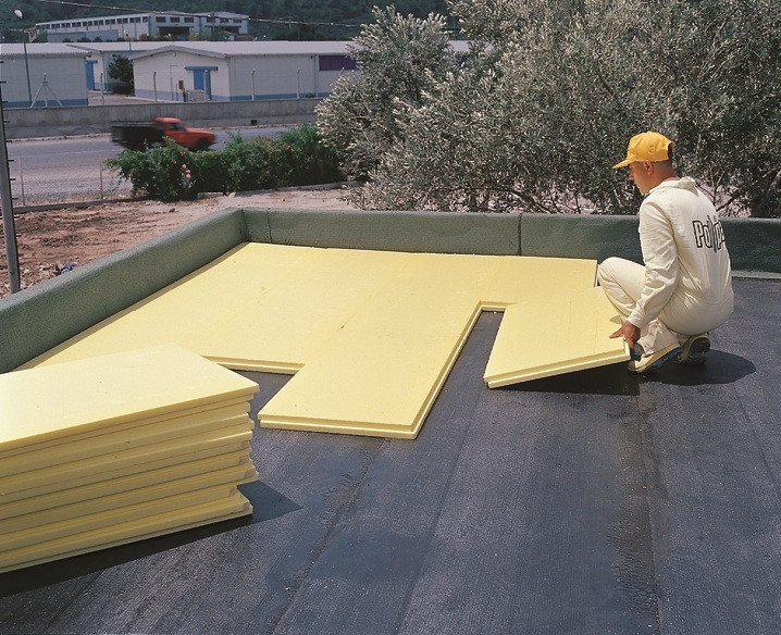 Extruded Polystyrene-Rood Application