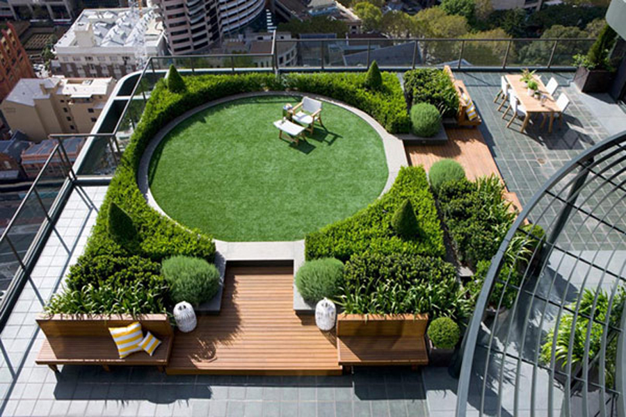 Round rooftop-garden-designs-for-eco-fri