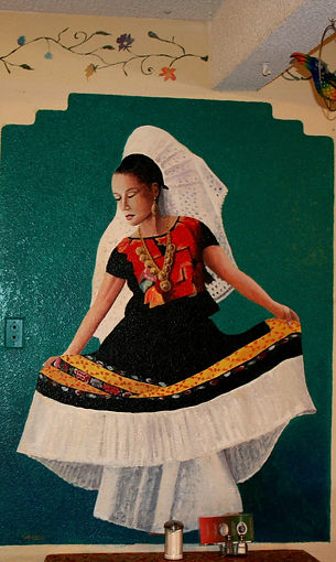 Mexican Dancer, 86 Cafe