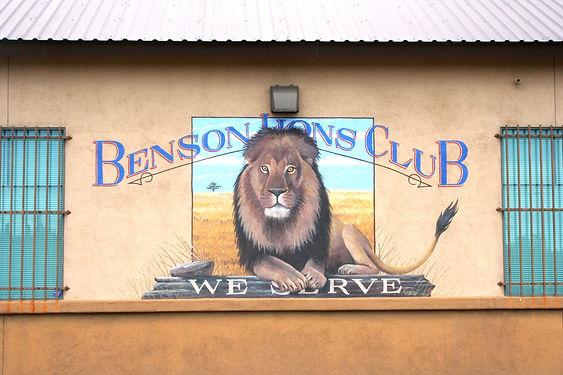 Lions Club, Benson, AZ