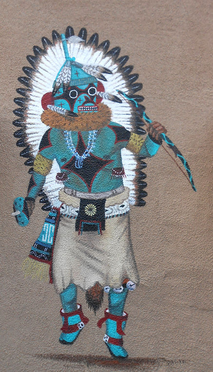 Hopi Kachina Spirit Dancer