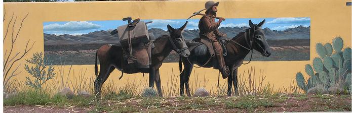 Early Prospector Mural