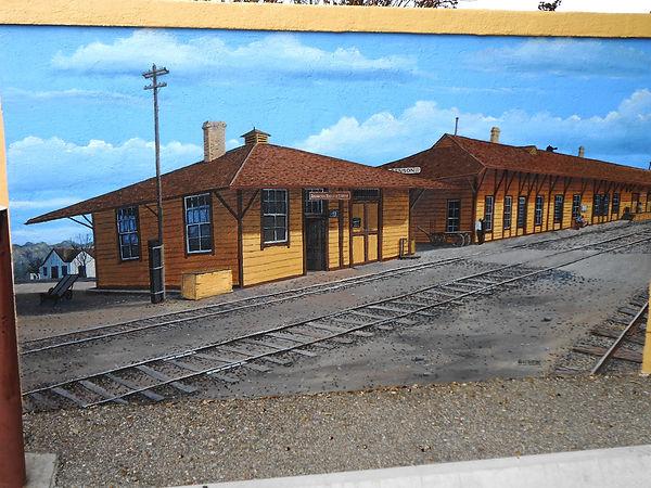 Benson Depot & Wells Fargo Freight Office, c. 1909