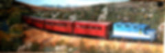 San Pedro & Southwestern Railroad mural