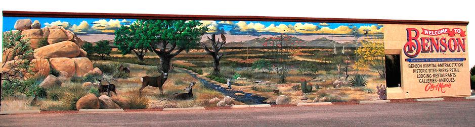 Desert Wildlife Mural