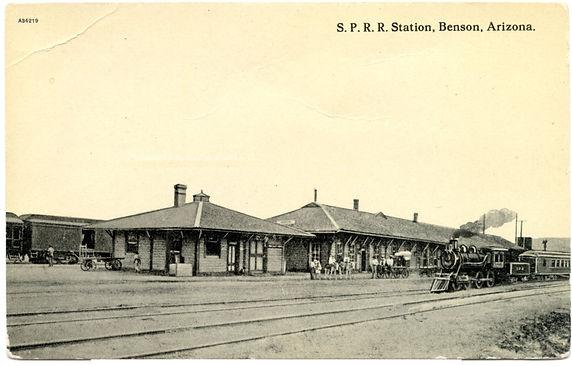 S.P. R. R. Benson Depot 1906